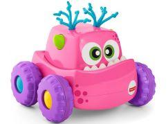 Fisher Price Příšerka autíčko růžové