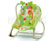 Fisher Price Sedátko od miminka po batole Rainforest
