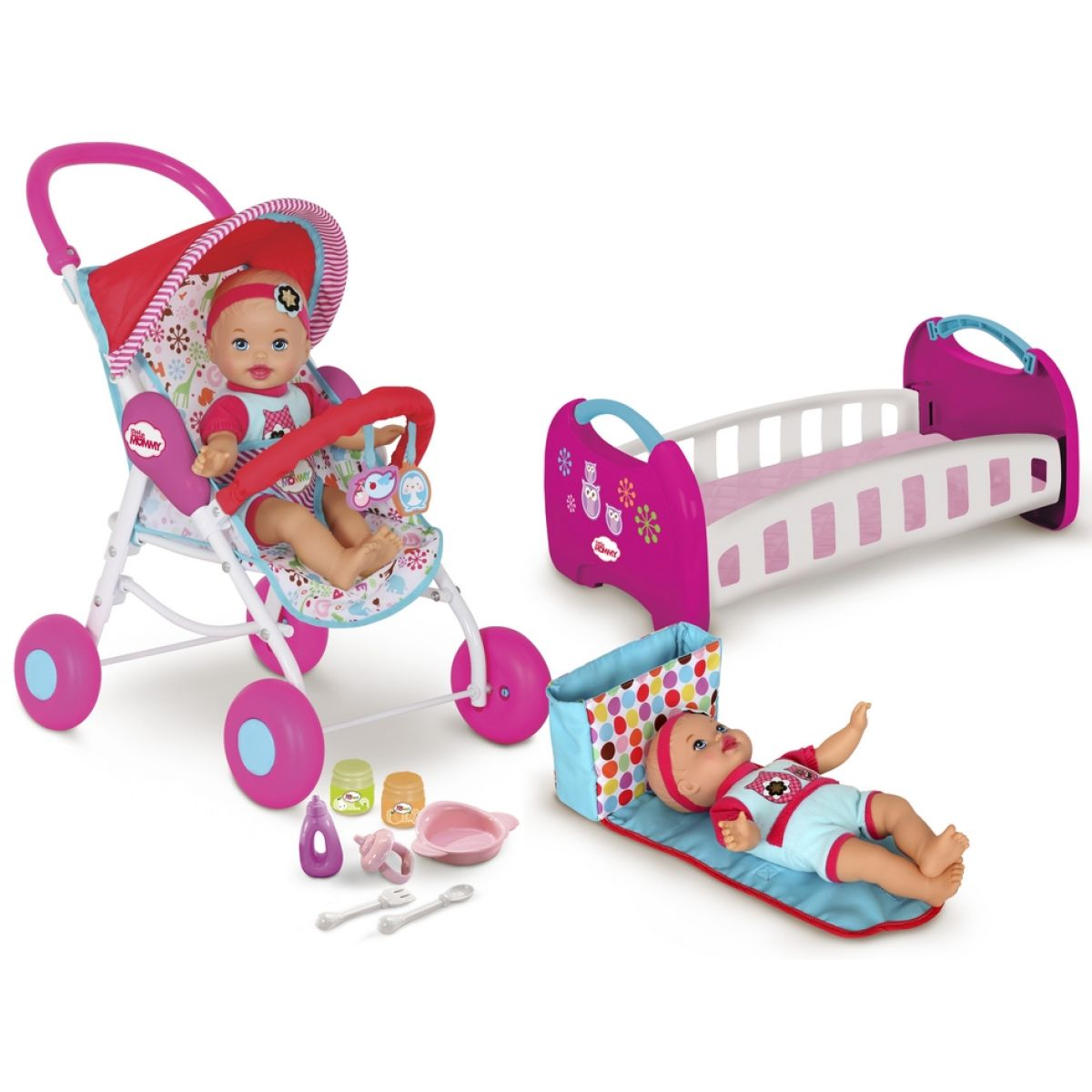 Fisher Price Souprava s panenkou