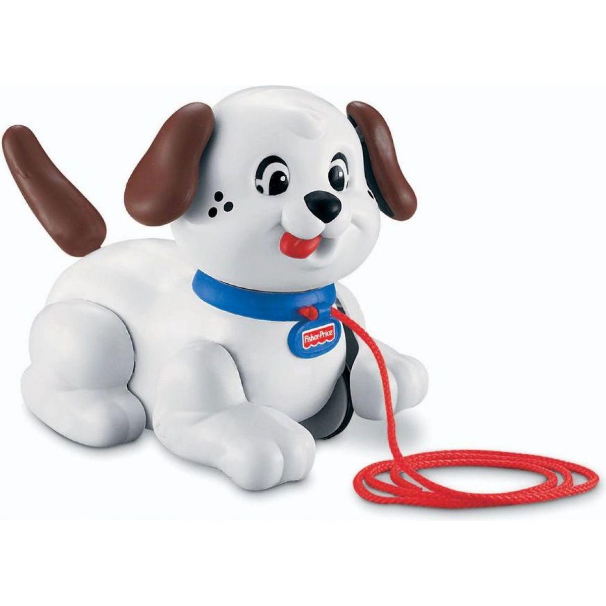 Fisher Price Tahací Snoopy - Bílá