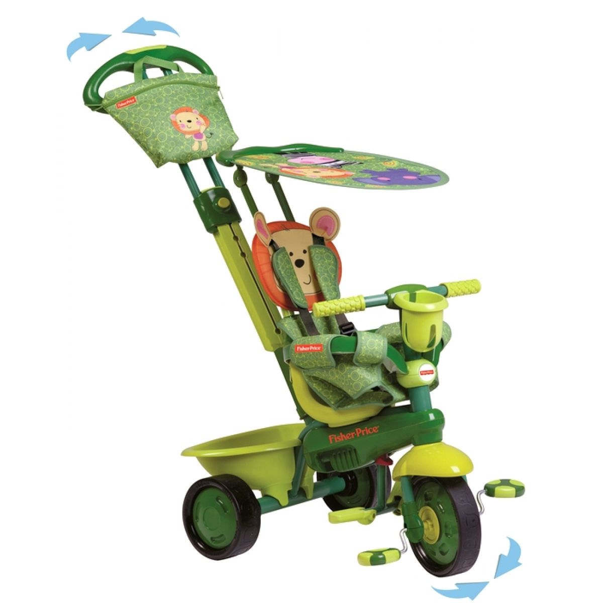 Fisher Price Tříkolka Royal Green