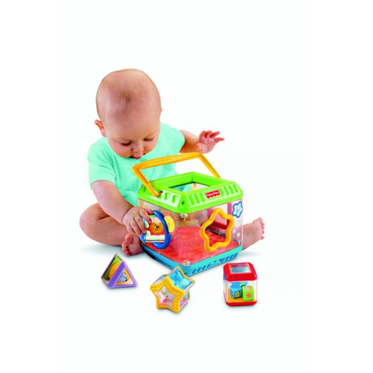 Fisher Price Vkládačka se zábavnými kostkami Mattel G5243