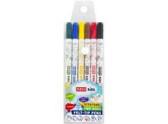 Fixy s vůní oboustranné 6 barev vypratelné