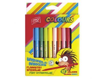 Fixy vypratelné 12 barev