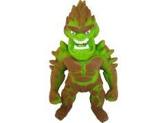 Flexi Monster figurka hnědo-zelený monster