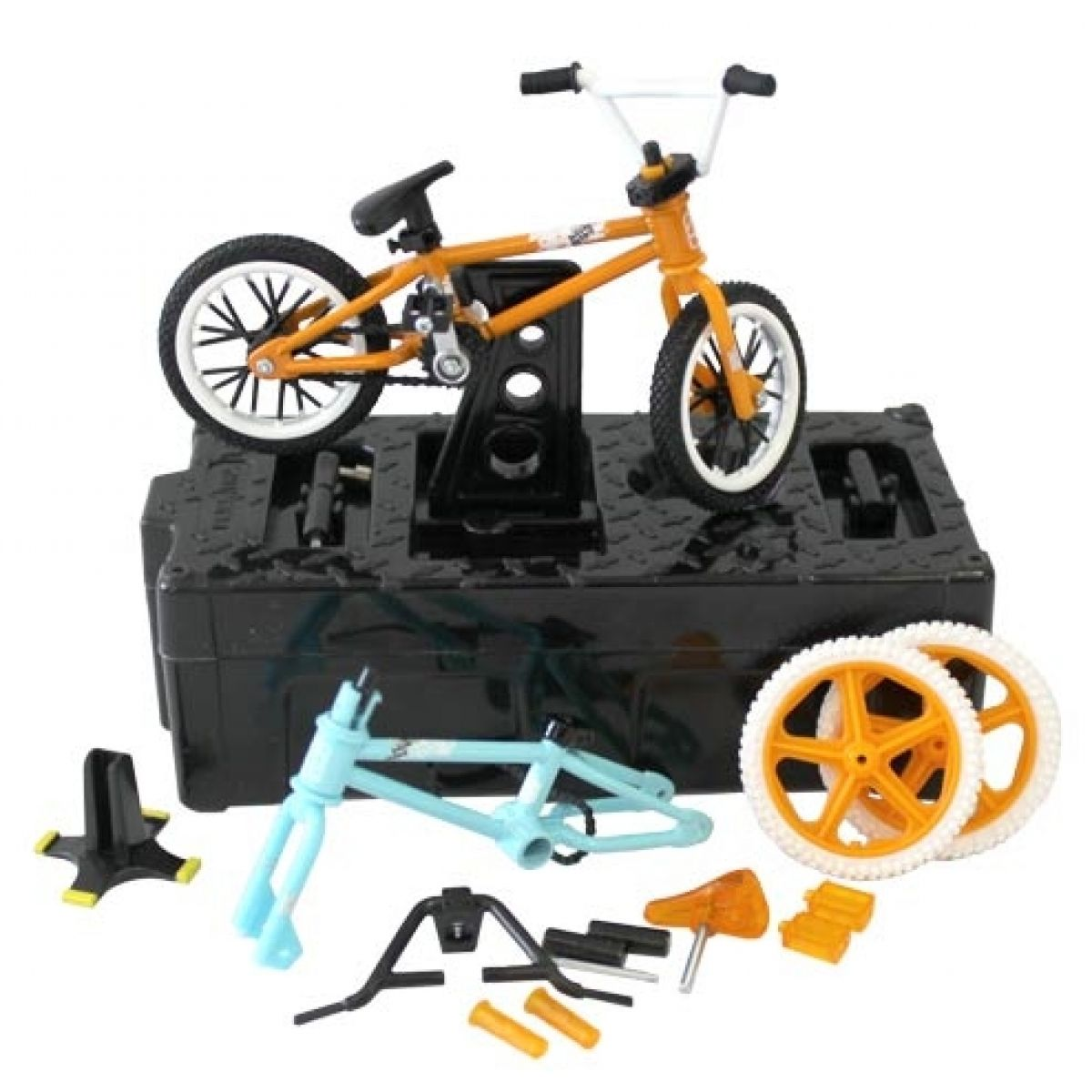 Flick Trix Fingerbikes s montážním stojanem