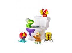 Flush Force 5 figurek + záchod