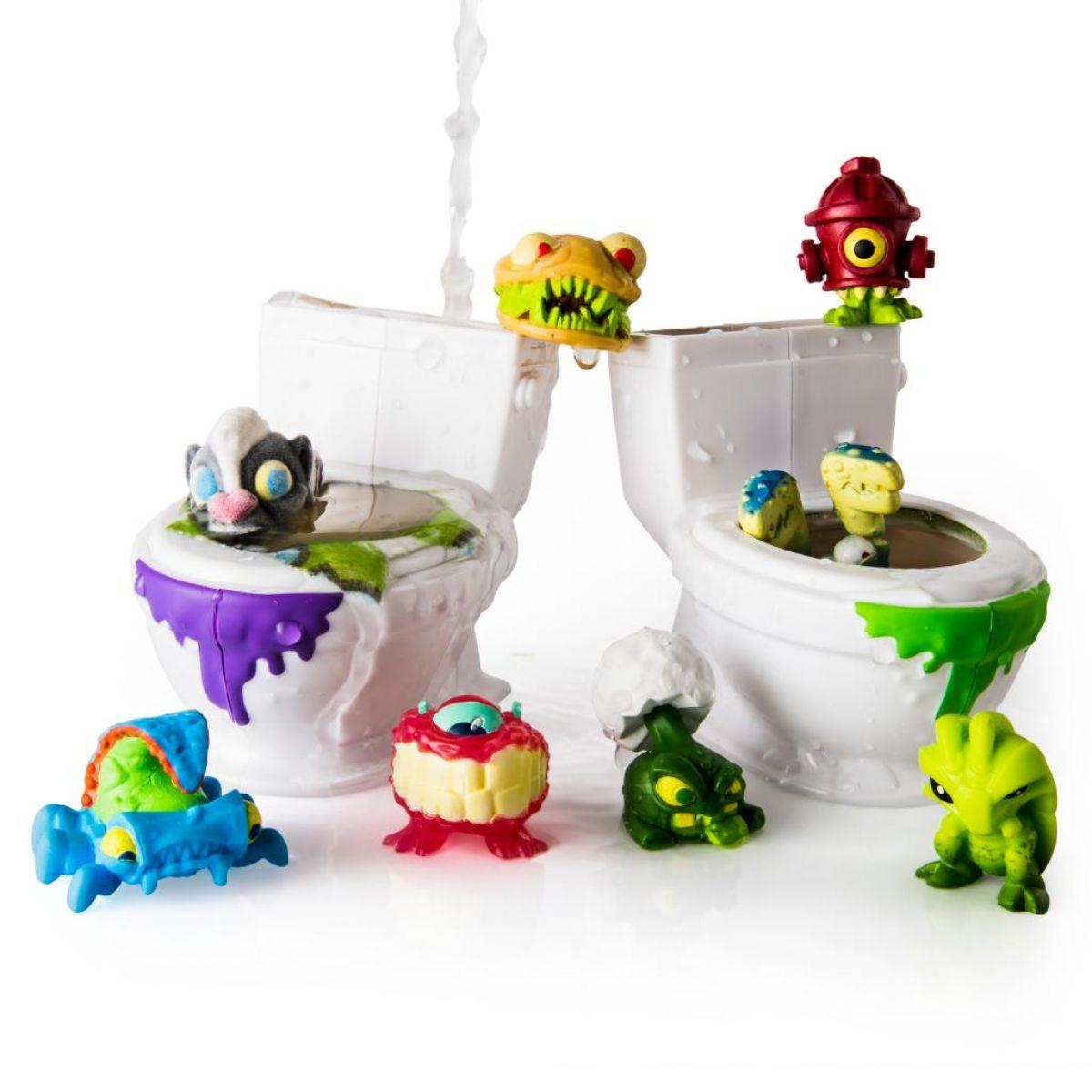 Flush Force 8 figurek + 2 záchody