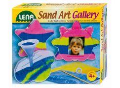 Lena Fotorámečky z barevným pískem, malé