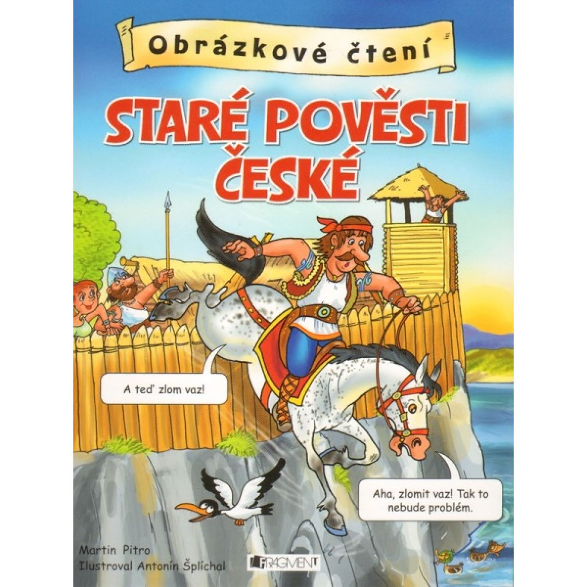 Fregment Obrázkové čtení - Staré pověsti české