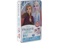 Spin Master Frozen 2 domino v plechové krabičce