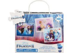 Spin Master Frozen 2 měnící se puzzle 3D 3 x 48 dílků