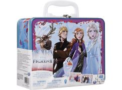 Spin Master Frozen 2 puzzle v plechovém kufříku 2 x 48 dílků