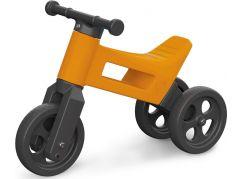 Teddies Funny Wheels Odrážedlo 2v1 oranžové