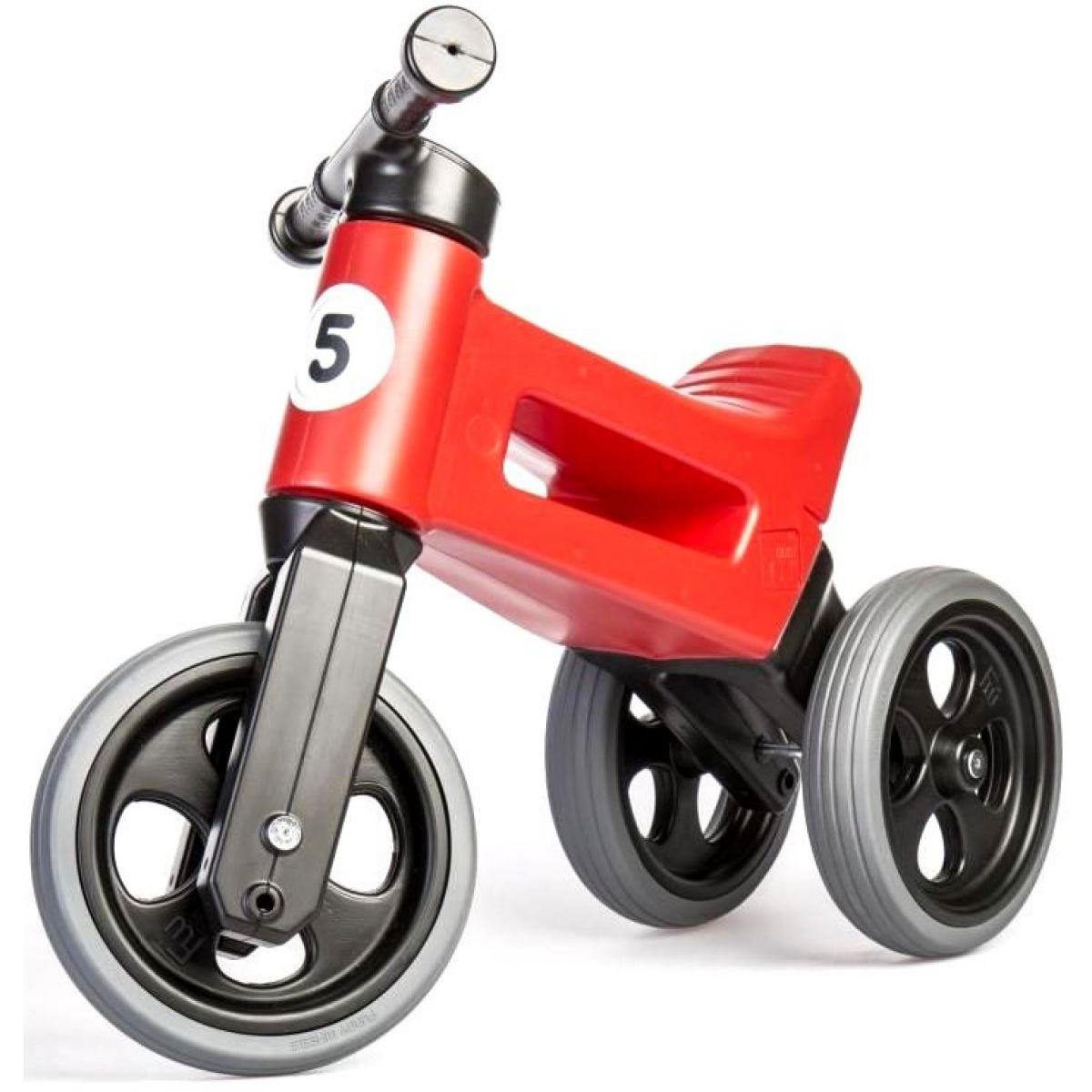 Funny Wheels Odrážedlo new sport 2v1 červené