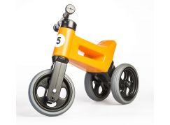 Funny Wheels Odrážedlo new sport 2v1 oranžové