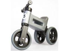 Funny Wheels Odrážedlo New Sport 2v1 šedé