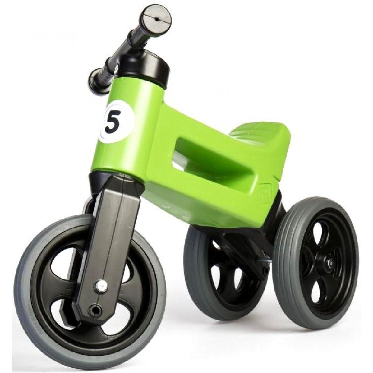 Funny Wheels Odrážedlo new sport 2v1 zelené