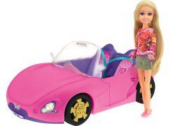 Funville Módní panenka Sparkle Girlz se závodním autem
