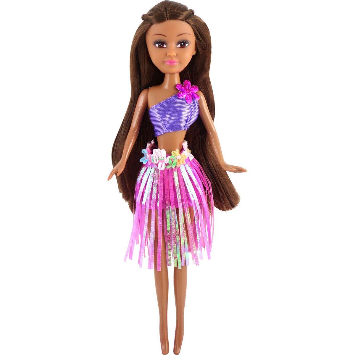 Funville Panenka z Oceanie Sparkle Girlz v kornoutu růžová sukně