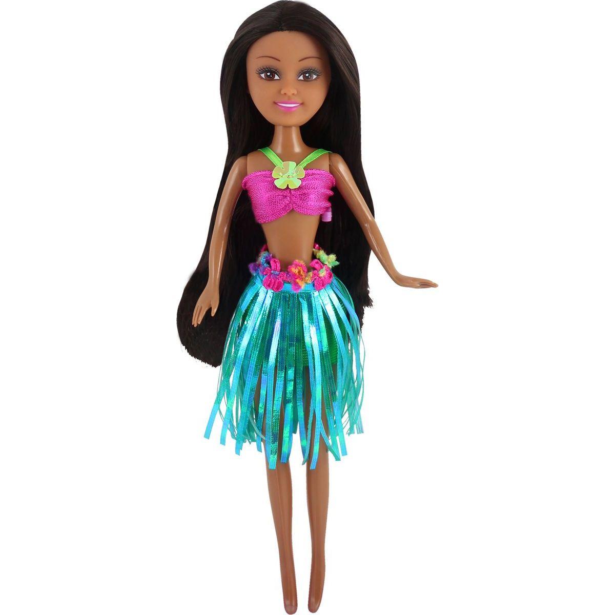 Funville Panenka z Oceanie Sparkle Girlz v kornoutu zelená sukně