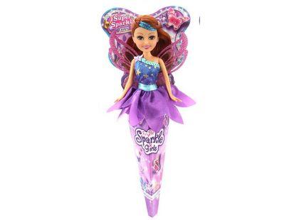 Funville Víla v kornoutu Sparkle Girlz fialová sukně