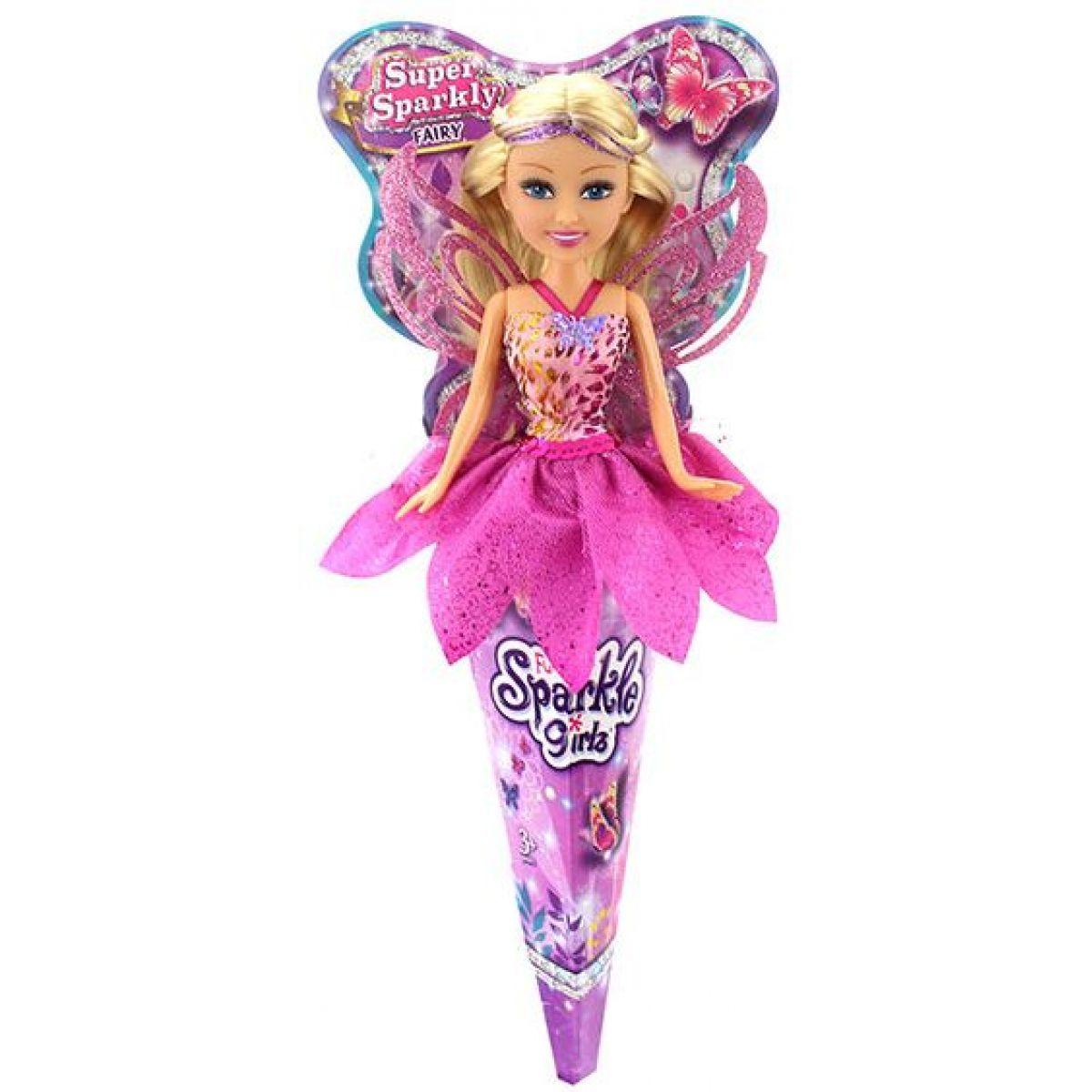 Funville Víla v kornoutu Sparkle Girlz růžová sukně
