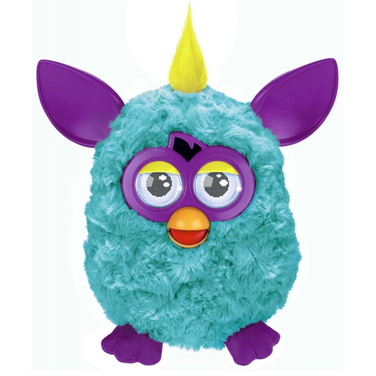 Furby Cool - A3124 Tyrkysový-fialové uši