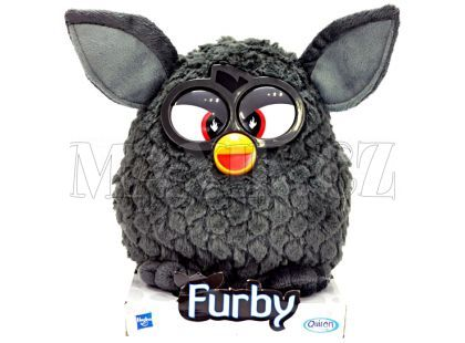 Furby Plyšový Black Magic černý 20cm