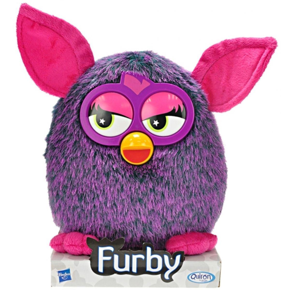 Furby Plyšový VooDoo fialový 20cm