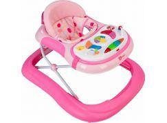 G-mini Dětské chodítko Monty hrací pult růžové