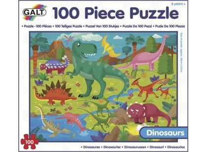 GALT 100 Puzzle v krabici Dinosauři