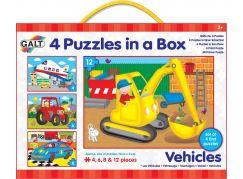 Galt 4 Puzzle Dopravní prostředky 30 dílků