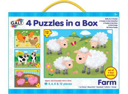 Galt 4 Puzzle Farma 30 dílků