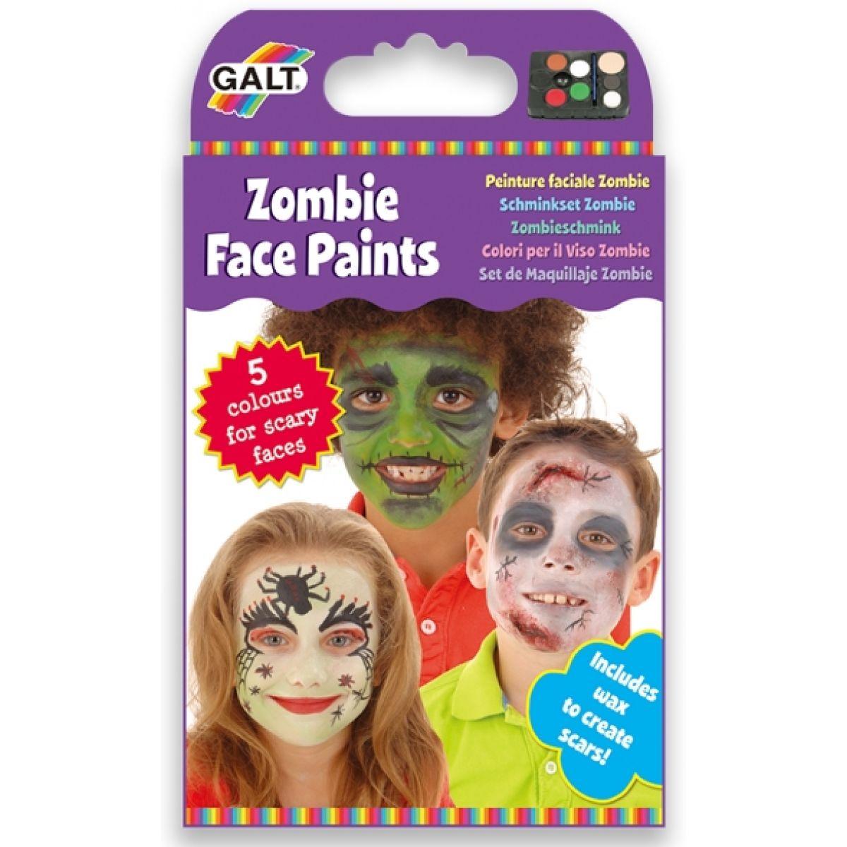 Galt Barvy na obličej Zombie