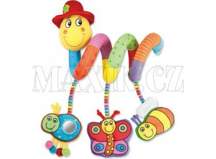 Galt Dětská hračka na postýlku Červík Pepík
