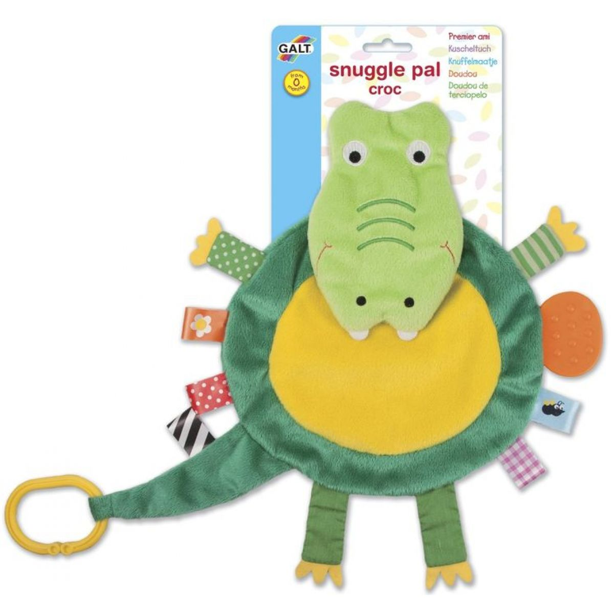 Galt Mazlící plyšový kamarád Krokodýl