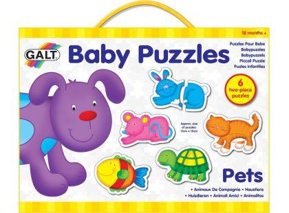 Galt Puzzle Domácí mazlíčci 2 12 dílků