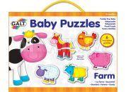 Galt Puzzle pro nejmenší Zvířátka na farmě 2 12 dílků