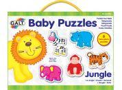 Galt Puzzle pro nejmenší Zvířátka v džungli 2 12 dílků