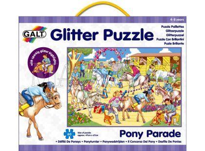 Galt Puzzle třpytivé - přehlídka koní 60d