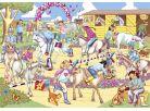 Galt Puzzle třpytivé - přehlídka koní 60d 2