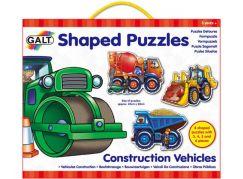 Galt Puzzle tvarované Pracovní stroje 6 dílků