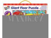 Galt Velké podlahové puzzle na Farmě 30 dílků