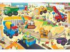 Galt Velké podlahové puzzle Na staveništi 30 dílků 2