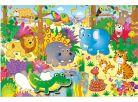 Galt Velké podlahové puzzle Zvířátka v džungli 30 dílků 2