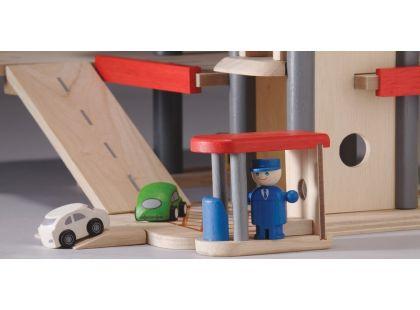 Garáž s příslušenstvím Plan Toys