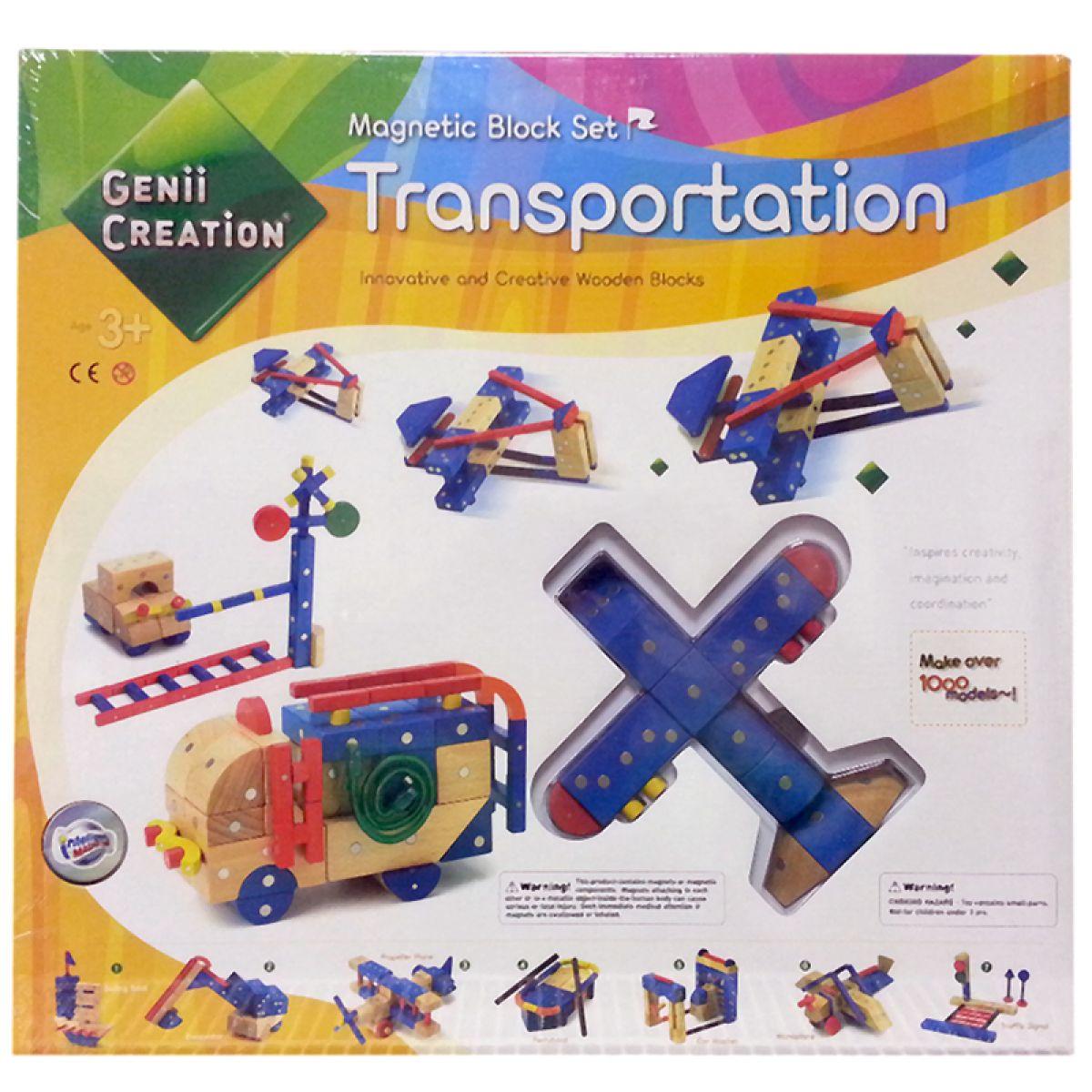 Genii Creation Dopravní prostředky