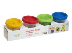 Genio Kids Kelímky s modelínou 4 barvy