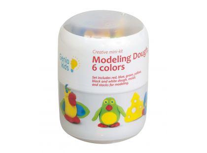 Genio Kids Modelína Mini set pro modelování 6 barev